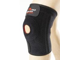登山护膝加强型弹簧条防滑条设计(单只装) 户外运动加强护具登山护膝