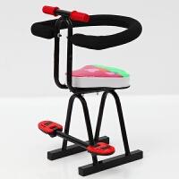 电动车儿童减震座椅前置小孩宝宝自行车踏板车电瓶车安全坐椅