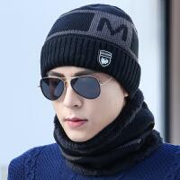 男士帽子冬季青年保针织毛线帽冬天棉帽防寒套头