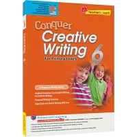 【首页抢券300-100】SAP Conquer Creative Writing 6 六年级英语创意写作练习册 攻克写