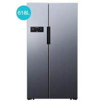 【风冷无霜】西门子冰箱变频风冷无霜对开门节能冰箱KA61EA66TI