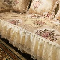 欧式沙发垫客厅沙发套防滑四季通用布艺123组合沙发罩巾