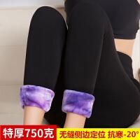 加长超厚打底裤冬季新款女加厚加绒外穿特厚保暖棉裤高腰冬天