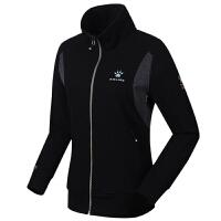 KELME卡尔美 K36C5048-1 女式秋冬运动套装 修身立领长袖卫衣套装 休闲运动开衫长裤套装