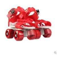 轻盈时尚儿童滑板鞋全套装四轮滑冰鞋双排滑板滑轮滑板鞋女男旱冰鞋