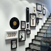 环保相框墙创意组合北欧楼梯墙墙面装饰相片挂画客厅餐厅挂画0143
