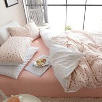 《晚安》棉四件套简约仙人掌宿舍三件套 棉被套床上用品