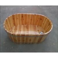 时尚泡澡木桶老人坐浴洗澡实木浴桶木质浴缸儿童沐浴木盆家用浴缸浴桶