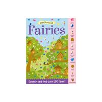 【首页抢券300-100】Search and Find Fairies 幼儿启蒙活动书 - 仙子 找找乐 专注力训练