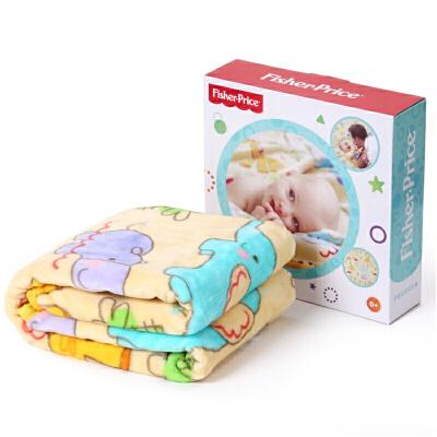 费雪夏毛毯子空调毯安抚毯防过敏面料婴儿柔软亲肤抱毯空调被超柔