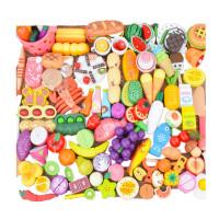 木制磁性切水果玩具水果蔬菜蛋糕切切看切切乐儿童过家家玩具