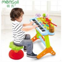 儿童玩具 麦克风电子琴玩具音乐启蒙学习宝宝儿童早教益智礼盒装生日礼物 .