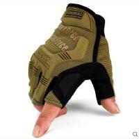 短指手套大方时尚户外作战防割格斗防刺军迷手套男半指加厚特种兵战术手套