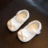 0-1-2-3岁小女孩鞋单鞋春秋季一周岁半女宝宝软底公主皮鞋女童鞋