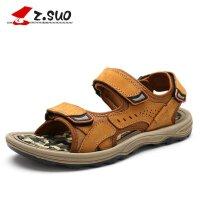 ZSUO/走索2016男鞋男士凉鞋夏季沙滩鞋真皮凉鞋男 新款户外沙滩鞋 时尚休闲鞋男