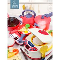 会喷雾的电饭煲宝宝做饭玩具套装煮饭炒菜仿真厨具儿童厨房过家家