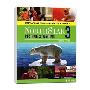 培生原版进口欧美主流英文教材托福雅思出国综合英语课程 North Star 北极星 读写学生用书第3级 国际版第4版 高中大学成人