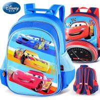 迪士尼幼儿园书包卡通汽车儿童书包小孩双肩包男童宝宝背包3-6岁5W