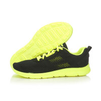 李宁2016新款夏季男鞋一体织网面透气减震跑步鞋运动鞋ARHL039