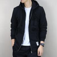 Adidas阿迪达斯 三叶草 男子 运动外套 休闲针织连帽夹克BS2632