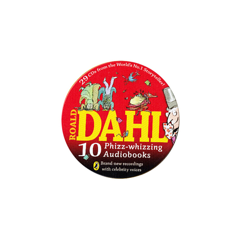 10 Roald Dahl Puffin Classics on 27CDs罗尔德达尔有声读物(10个故事,29张CD)ISBN9780141352343 ISBN 9780141352343