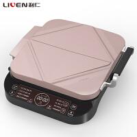 利仁(Liven)LR-FD3702 电饼铛 双面加热智能全自动家用正品煎饼机烙饼锅