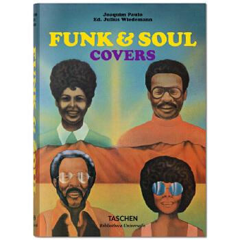 Funk & Soul Covers乡村爵士乐封面设计 英文原版平面设计 善本图书 汇聚全球出版物,让阅读改变生活,给你无限知识