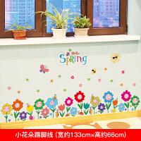 儿童宝宝创意卡通身高贴卧室小孩测量身高尺贴画3d立体墙贴可移除 大