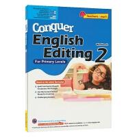 SAP Conquer Editing 2 二年级攻克改错系列练习册 8岁 新加坡新亚出版社教辅 英文原版进口