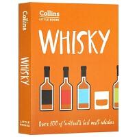 柯林斯小书系列 威士忌 Whisky Over 100 of Scotland's Best Malt Whiskies