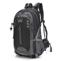 新款男士登山双肩包男休闲旅行背包女韩版潮休闲电脑包户外旅游包