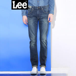 Lee男装 2017秋冬新款中低腰修身小直脚牛仔裤男LMS706Z024SC