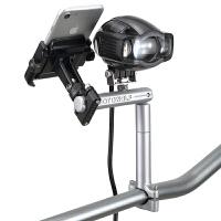 摩托车改装配件铝合金平横杆自行车把手机导航支架多功能扩展杆