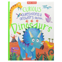 【首页抢券300-100】Curious Questions & Answers Dinosaurs 好奇问与答 恐龙