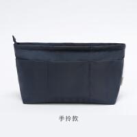 包中包内胆收纳化妆便携大容量简约整理通勤包中包旅行时尚化妆品子母包袋内置手提收纳