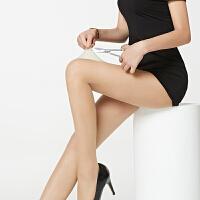 丝袜女薄款连裤袜防勾丝性感长筒隐形夏季黑肤色女士打底袜子 超值4条任性剪(均码)