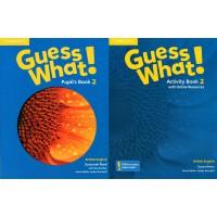 剑桥少儿英语教材 Guess What! Level 2 学生用书+练习册 英音版