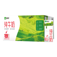 【9月新货】蒙牛纯牛奶200ml*24盒纯牛奶 营养