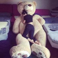 美国大熊大号公仔抱抱熊毛绒玩具泰迪熊布娃娃生日礼物送女友熊