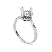 先恩尼 18K金 钻石戒指 钻石女戒 结婚钻戒 钻石空托 HFGCB400 戒托