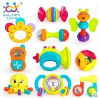 汇乐939宝宝摇铃玩具礼盒安全新生儿早教婴儿玩具0-1
