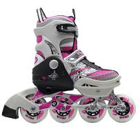 奥得赛儿童溜冰鞋633 小孩旱冰鞋滑冰鞋 可调男女直排轮滑鞋