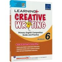 【首页抢券300-100】SAP Learning Creative Writing Workbook 6 学习系列小学