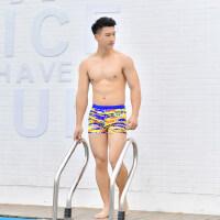 男士泳裤平角速干游泳裤温泉专业游泳装备 支持礼品卡支付