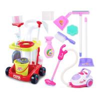 儿童过家家清洁玩具女孩打扫卫生扫地拖把仿真吸尘器宝宝工具套装
