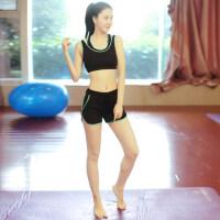 瑜伽服套装 女速干健身房服跳操跑步运动服显瘦时尚瑜珈服 支持礼品卡支付