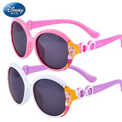 迪士尼儿童太阳镜女童太阳镜儿童墨镜儿童眼镜防紫偏光宝宝太阳镜