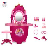 儿童梳妆台女孩仿真儿童化妆品公主彩妆盒宝宝化妆盒过家家玩具