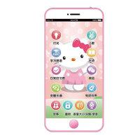 充电触屏儿童仿真玩具手机宝宝故事电话机0-1-3岁 IPHONE 8手机+平板+手表【女宝】