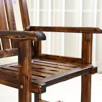 腐茶室沙滩实木家具/户外阳台休闲靠背椅/酒吧咖啡桌椅组合套件